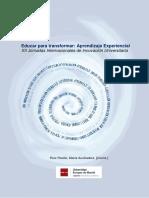 Educar para transformar - Aprendizaje experimental.pdf