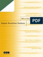 OGC Dispute Resolution Guidance