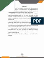 Analisis Manajemen Investasi PT. Pakuwon Jati