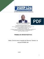 Controlo interno na gestão dos Recursos Humanos da empresa KITANDA-LDA (2)  - João Maria Funzi Chimpolo