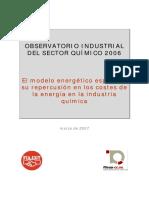 Obs Quimico 2006 FIA y FITEQA Modelo Energético
