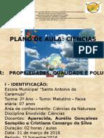 Plano de Aula - Ciências