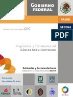 Guía CENETEC. Diagnóstico y tratamiento de cáncer cervicouterino.pdf