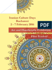Iranian Culture Days Booklet