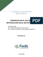 OIQuimico Tendencias en El Uso de Biotecnologia