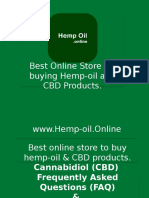 Best Online Hemp Oil Store