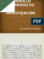 DESARROLLO DEL PROYECTO DE INVESTIGACI+ôN (1)