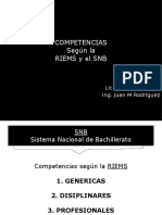 Competencias RIEMS