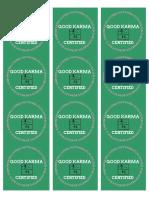 Karma Inspection ECN