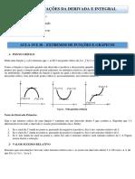 Aplicações de derivadas