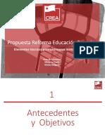 Propuesta de Reforma a La ESUP (1) - Institucionalidad - Fundación Crea