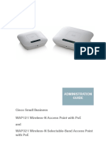Cisco WAP121 Admin Guide