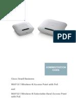 Cisco WAP121 Admin Guide