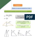 Ficha Perímetro Área Triángulos