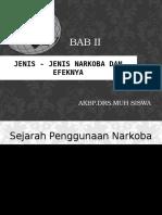 BAB II JENIS NARKOBA - Copy.pptx