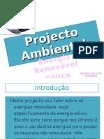 Projecto Ambiental