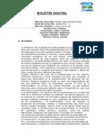 Boletín Digital Ecosistemas y biodiversidad