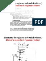 CURS 8 9 Drosele Regulatoare