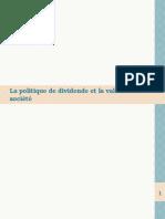 104622742 La Politique de Dividende