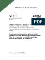 ITU-G.694.1