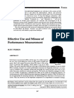 1999. Perrin, Burt. Effective Use and Misuse of Measurement