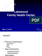 Lakewood Family Health Center Presentation 2016-05-12 - Update