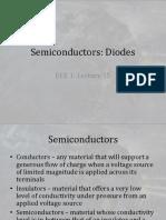 L15 SemiconductorsDiodes 1