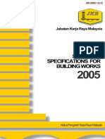 Jk r Specification for All Construction Works Malaysia