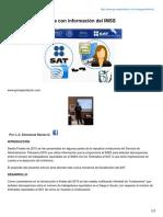 SAT Fiscaliza Nóminas Con Información Del IMSS--2016
