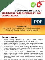 Klp 4 Studi Kasus Audit Kinerja