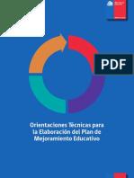 Orientaciones Tecnicas Para La Elaboracion Del PME 2014