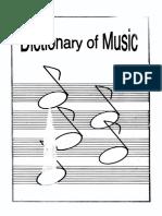 معجم الموسيقى Music Dictionary English-Arabic