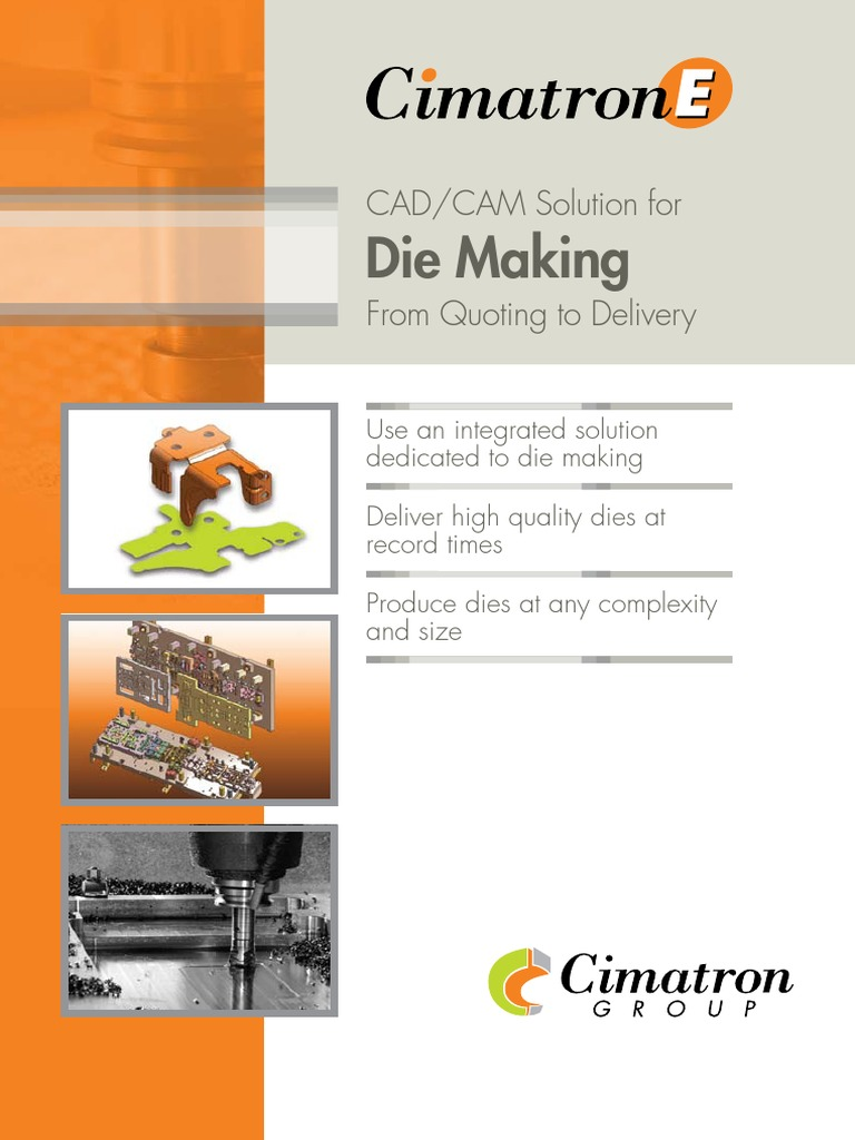 Cimatron - CAD/CAM Solution for Die Making | Machining