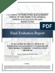 FECA Report on OPM Oversight of Program