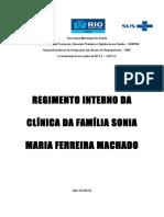 Regimento Interno SMFM 2016