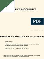 Clase - Introduccion a Las Proteinas