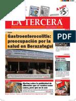 Diario La Tercera 16.05.2016