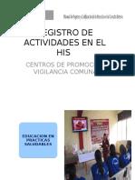 E. Registro de actividades en HIS CPVC.pptx