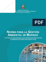 CMN01 Gestion Ambiental de Marinas