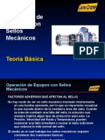 Operación de Equipos Con Sellos Mecánicos
