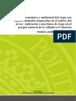 Martínez - Estudio Agronómico y Ambiental Del Riego Con Aguas Residuales Depuradas en El Cultivo ...