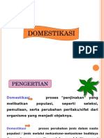 Domestifikasi