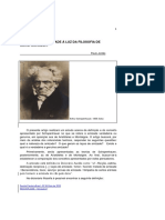 A Natureza Da Amizade à Luz Da Filosofia - Schopenhauer