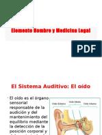Elemento Hombre y Medicina Legal3 - El sistema auditivo