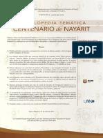Enciclopedia Temática Centenario de Nayarit