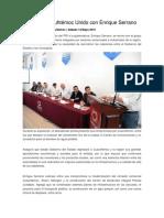 2016-05-14 Se Reúne Cuauhtémoc Unido Con Enrique Serrano