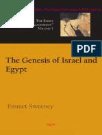 Emmet Sweeney - The Genesis of Israel and Egypt