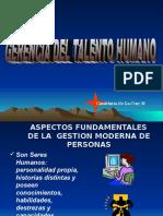 CONFORMACIÓN DEL DPTO DE TALENTO HUMANO