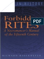 Forbidden Rites a Necromancer's Manual of the Fifteenth Century