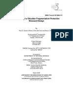 Evaluation of a Shoulder Fragmentation Protection